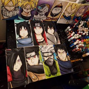 Uchiha/Sharingan Set! By Quil - Naruto Shippuden for Sale in Tracy, CA