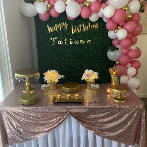 Elegant Birthday Set Ups Available for Sale in Modesto, CA