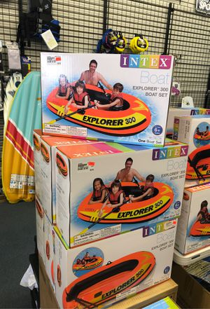 Inflatable boat 3 person for Sale in Renton, WA