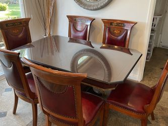 ELEGANT CUSTOM 8-PIECE DINING SET for Sale in Los Angeles,  CA