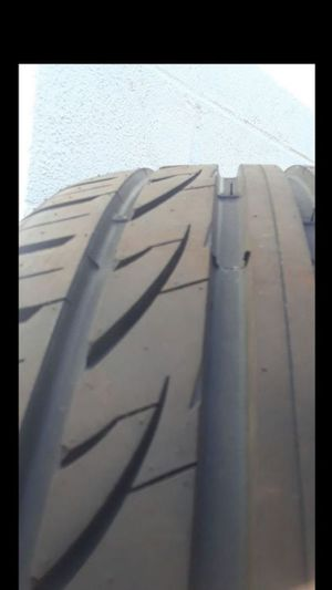 2 Tires Newer Lexlani 245/45R18 for Sale in Fairfax, VA