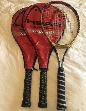 3 Head tennis rackets for Sale in Houston, TX