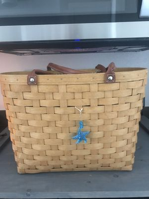 Longaberger tote for Sale in Manteca, CA