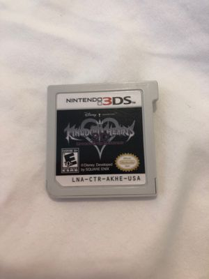 Kingdom Hearts 3D Dream Drop Distance 3ds for Sale in Houston, TX