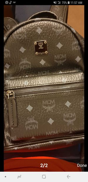LV MCM small leather backpack $$300 for Sale in Houston, TX