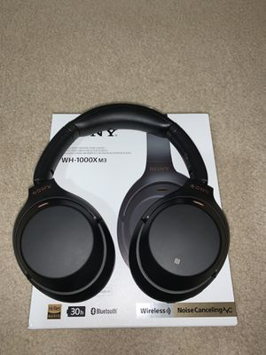 Sony WH-1000X M3 Noise Canceling Headset for Sale in Katy, TX