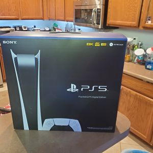 Playstation 5 PS5 - Digital Version - New In Sealed Box With Receipt For registration And Warranty for Sale in Chandler, AZ