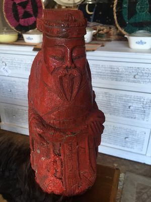 Vintage wood carved statue sculpture for Sale in San Diego, CA