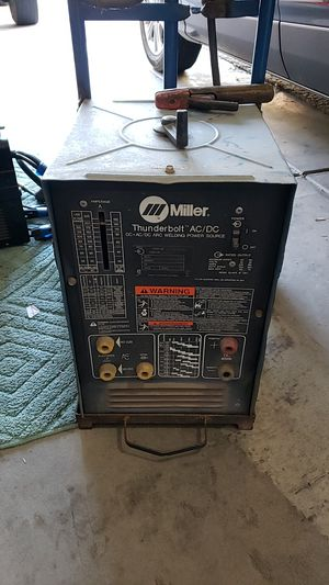 MILLER THUNDERBOLT AC/DC ARK WELDER for Sale in Las Vegas, NV