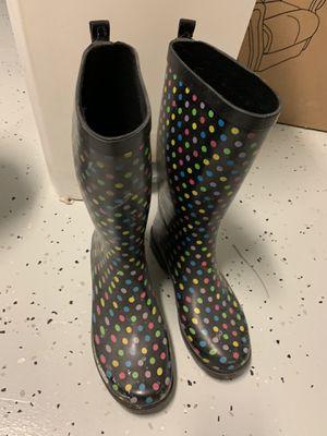 Women's rain boots size 10 for Sale in Odessa, FL