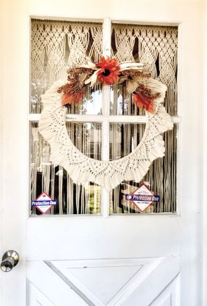 FALL door WREATH, THANKSGIVING wreath, autumn wreath, wreath, holiday wreath, door wreath, fall decor , autumn decor for Sale in Riverside, CA