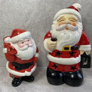 2 Santa Candle Holders for Sale in Albuquerque, NM