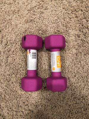 Cap Neoprene 5lb dumbbell set for Sale in Westerville, OH