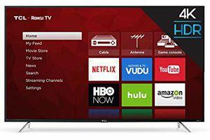 TCL 65 inch 4k roku TV for Sale in Arcadia, FL