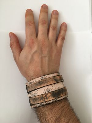 NEW Unisex Leather Cuff Bracelet for Sale in Silver Spring, MD