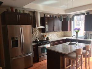 Kitchen cabinets, granite countertops, appliances, sink and faucet for Sale in Philadelphia, PA