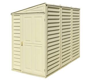 Shed Duramax 4ft x 8ft Sidemate Vinyl Resin Outdoor Storage Shed for Sale in City of Industry, CA
