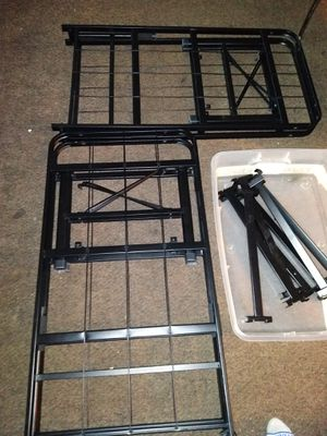 Twin to full metal frame for Sale in West Valley City, UT