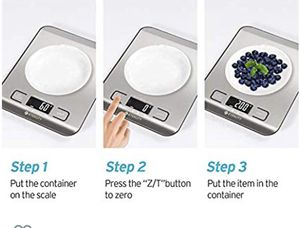 Food digital kitchen weight scale for Sale in Queens, NY