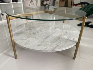 Marble and Gold Coffee table for Sale in Miami, FL
