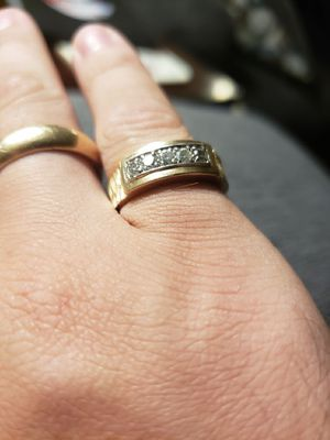 14k Yellow Gold and Diamond Ring for Sale in Lexington, SC