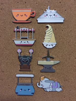 Disney Kingdom of Cute Pins Selling as Set for Sale in Sunnyvale, CA