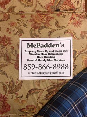 McFadden's for Sale in Mount Sterling, KY