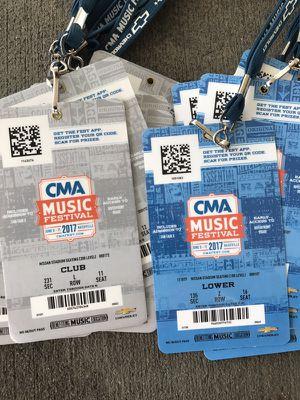 CMA Tickets for Sale in Nashville, TN