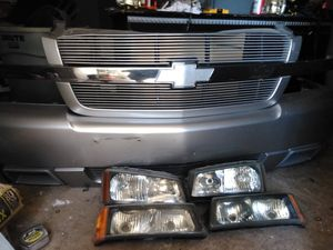 Chevy ss bumper lights and grill for Sale in Fresno, CA