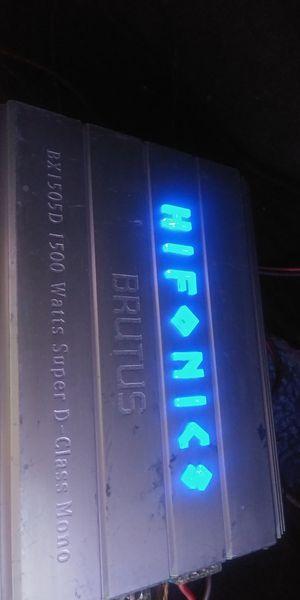 HIFONICS 1500W (NO DA AUDIO...TURNS ON BUT NO SOUND for Sale in Compton, CA