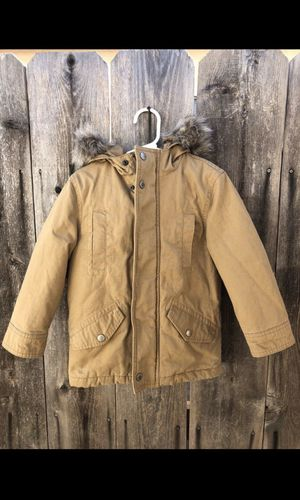 Gap Kids - 4t 5t Boy Khaki Jacket Coat Parka XS for Sale in San Diego, CA