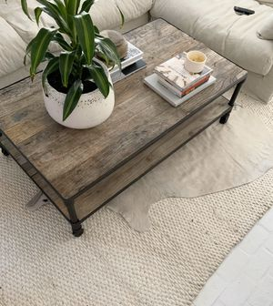 Restoration Hardware Dutch Industrial Coffee Table for Sale in Virginia Beach, VA