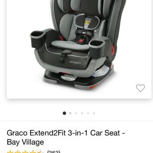 Graco Extend2Fit 3-in-1Car Seat for Sale in Winchester, MA