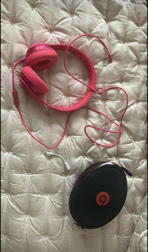 Beats by Dre headphones and adaptor for Sale in Stockton, CA