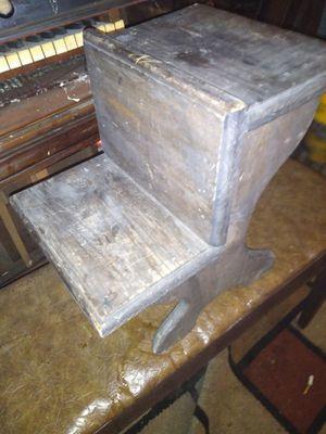 Miniature wood school desk for Sale in Kennedale, TX