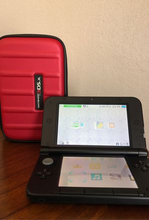 Nintendo 3DS XL with hard case and games for Sale in Vallejo, CA