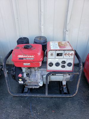 HONDA EG5000 GENERATOR for Sale in Bakersfield, CA