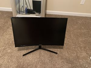 22 inch curved Samsung monitor for Sale in Douglasville, GA