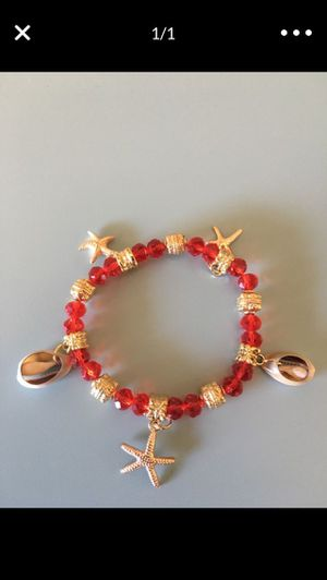 Sea Shell Charm Stretch Bracelet for Sale in Chula Vista, CA
