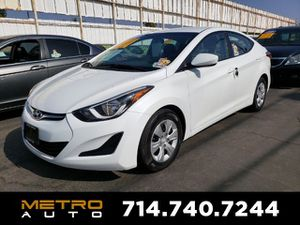 2016 Hyundai Elantra for Sale in La Habra, CA