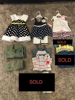 NEW AND LIKE NEW‼️4T TODDLER BABY GIRL OUTFIT SETS - BABY GAP, CARTERS, DISNEY AND MORE for Sale in Houston, TX