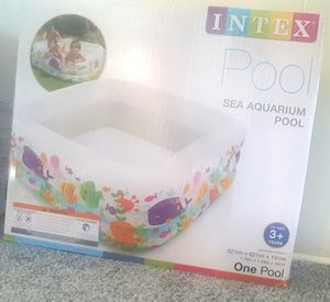 NEW , UN - OPEN BOX Brand: Intex Size : 62 x 62 x 19 Inflatable Pool for Sale in Middle River, MD