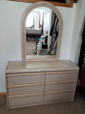 6 drawer dresser with detachable mirror for Sale in Wood Village, OR