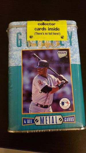 Ken Griffey jr. Metal trading cards for Sale in Portsmouth, VA