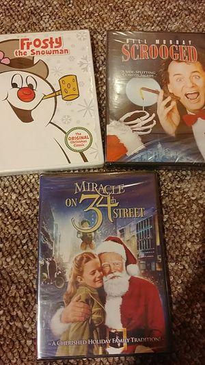 Never opened Christmas dvds for Sale in Vestal, NY