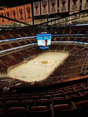 2 Tickets Blackhawks vs Calgary Flames Tuesday 1/7 730pm Section 323 Row 12 for Sale in Darien, IL