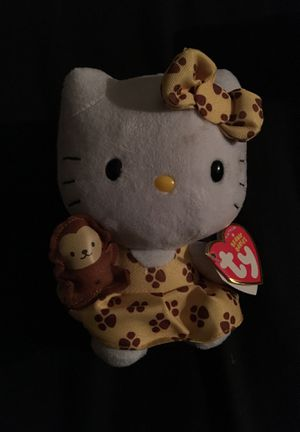 Hello kitty plushie with monkey for Sale in Hanover, PA