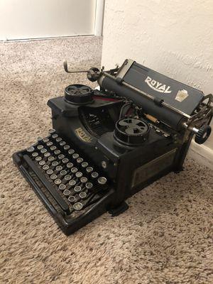 Antique Royal typewriter for Sale in Denver, CO