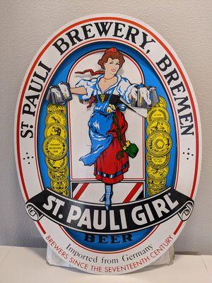 St. Pauli Girl Beer Sign for Sale in Wilsonville, OR