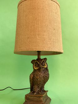 Rare Vintage 70s Owl Table Lamp for Sale in San Francisco,  CA